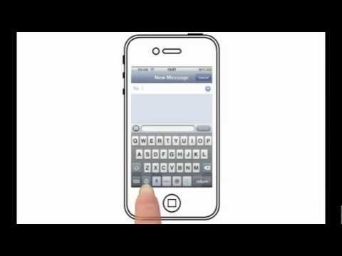 Add Smileys To Your Messages (iPhone 4s)