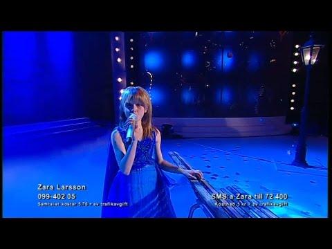 Zara Larsson sjunger My heart will go on i finalen av Talang 2008 - Talang (TV4)