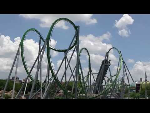 Highlight reel Universal parks & Legoland, Orlando Florida 2014