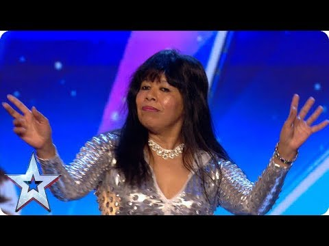 All that GLITTERS: Ruth Davies busts out her best moves! | Auditions | BGMT 2018