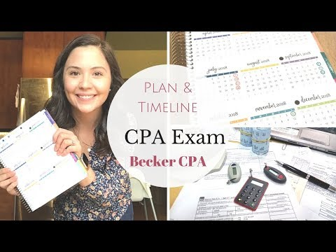 Plan & Timeline for the CPA Exam | Becker CPA Review |
