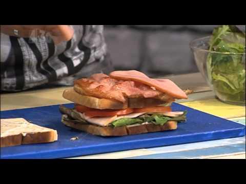 Michaels Munchies - Turkey Club Sandwich