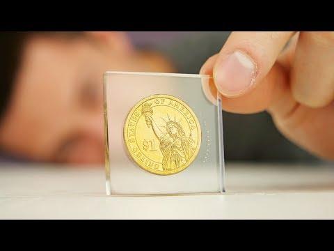 DIY Coin in Epoxy Resin
