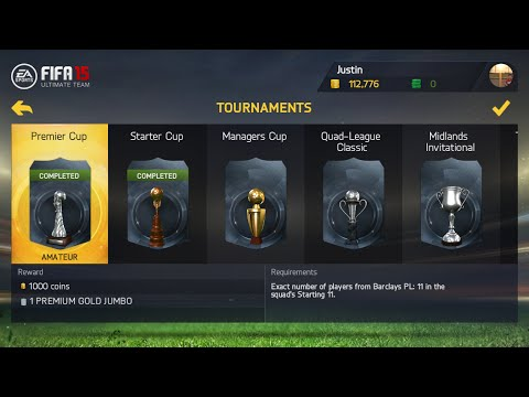 RACE TO PREMIER CUP ft. MOTM BONY& DIEGO COSTA!! -fifa 15 IOS Tournament 03