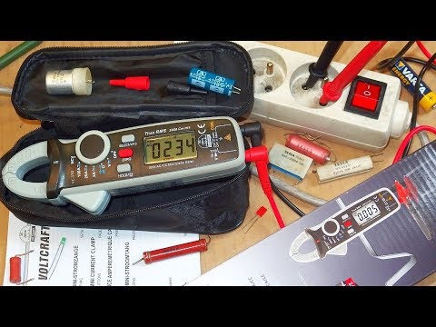 VC-330 Clamp Meter Test (it's the same as UNI-T UT210E !)