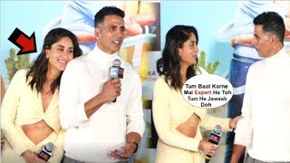 Kareena Kapoor's CUTE Video With Akshay Kumar In Front Of Media At Good Newwz Trailer Launch