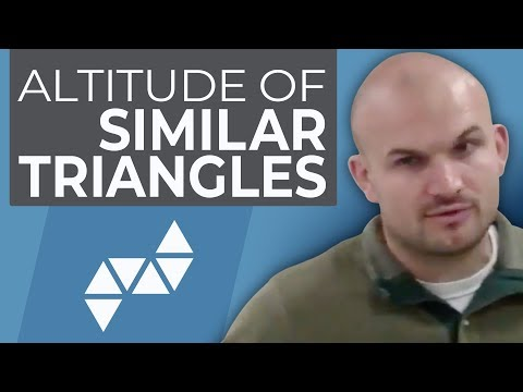 Geometry - Special segments of similar triangles Altitude