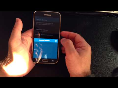 Samsung Galaxy S5 Tip: How register your fingerprint
