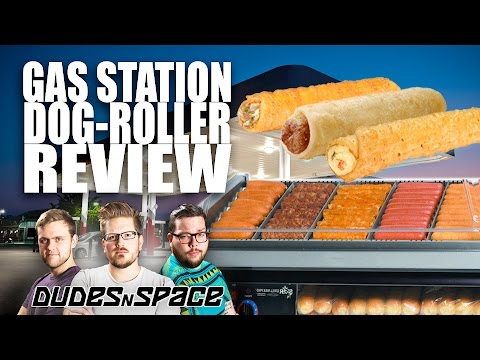 Gas Station Roller Food - The ULTIMATE Road Trip Meal - Dudes N Space