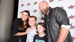 Triple H & Stephanie McMahon meet the WWE Universe in Brooklyn to benefit Connor