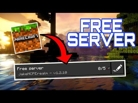 How To Make A FREE SERVER For MCPE 1.2 // Minecraft Bedrock Edition