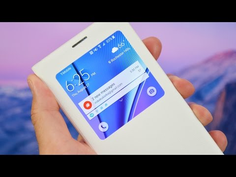 Samsung Galaxy Note 5 S-View Flip Cover: Review