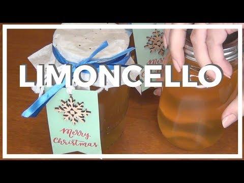 How to Make Limoncello ♥ 12 DIYs of Christmas