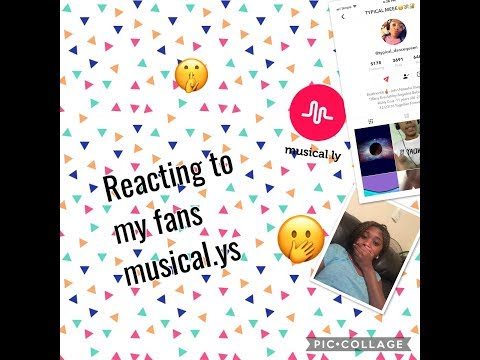 Reacting to my fans musical.lys~😍BeautybyDelores