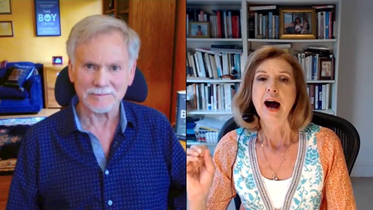 Dr. Warren Farrell with Bettina Arndt on The Boy Crisis