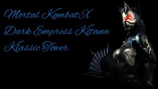 MORTAL KOMBAT X (PS4) Dark Empress Kitana Klassic Tower Ladder