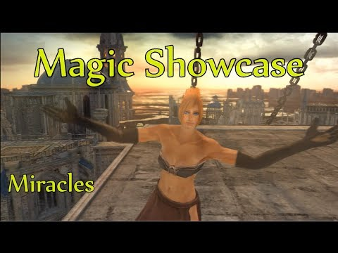 Dark Souls II ALL MIRACLES SHOWCASE (M)