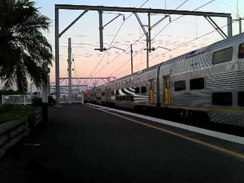 long train leaves broadmeadow