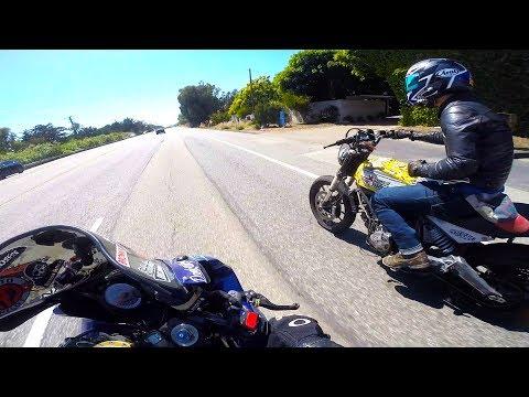 SCARY day in Malibu with MotoGEO!