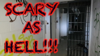 HAUNTED MAXIMUM SECURITY PRISON OVERNIGHT (SCARY AF)