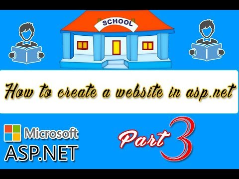 How to create ASP.NET Website for Beginners | College Website| #CODERBABA | Part-3 Hindi