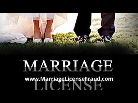 What is Marriage License Fraud?