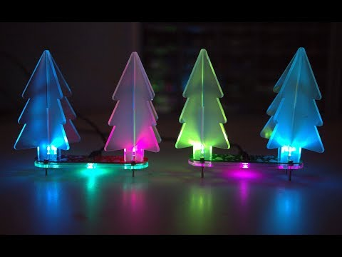Geekcreit - DIY Color Changing LED Christmas Tree