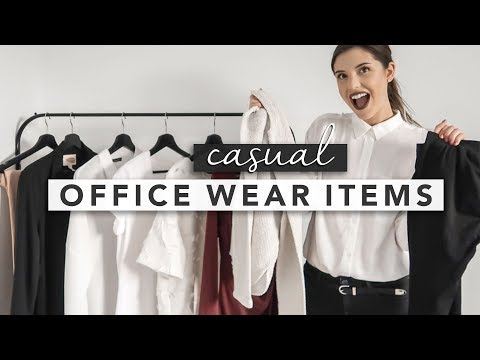 Casual Pieces to Sneak Into in Your Office Workwear