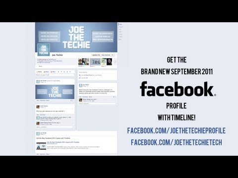 Get the New Facebook 2011 Layout with Timeline