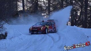 Test Monte Carlo 2019   Sébastien Ogier   Citroën C3 WRC  Full Snow [Day4]