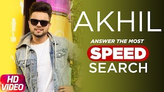 Akhil | The Most Search Speed Questions | Speed Records