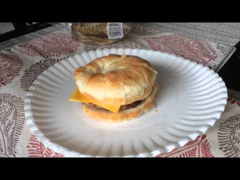 Jimmy Dean SAUSAGE, EGG & CHEESE CROISSANT SANDWICHES Review
