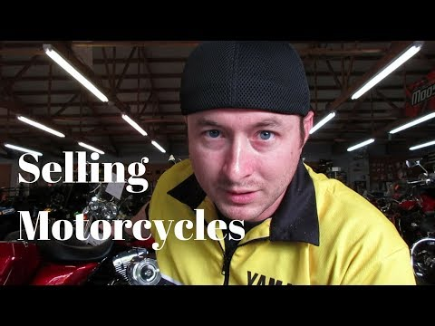 Tips on How to Sell Motorcycles - Selling a Motorcycle and Sales in General
