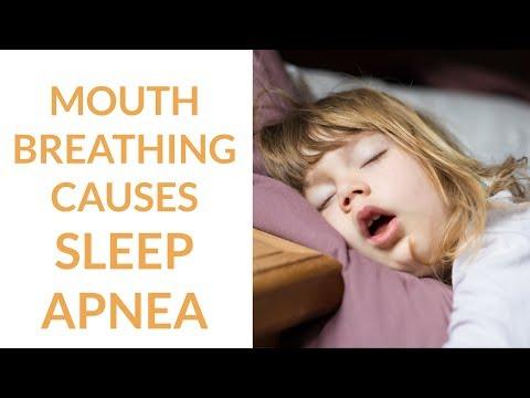 Mouth Breathing Causes Sleep Apnea