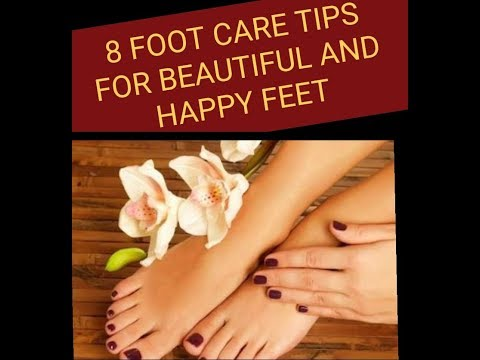 Follow these 8 foot care tips and keep your feet happy, beautiful & healthy