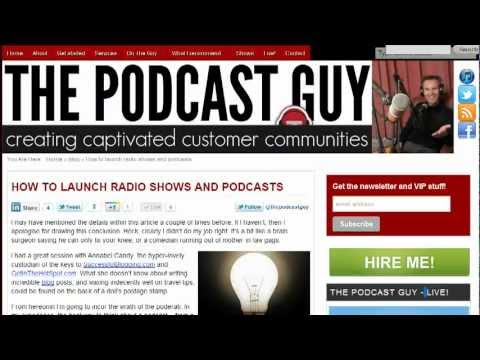 Articles to power your podcasting at ThePodcastGuy.com