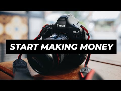 Making Money as a BEGINNER PHOTOGRAPHER - How to book your first photoshoot!