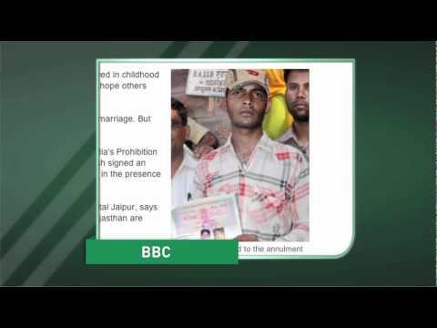 Laxmi Sargara Baby Bride, India Child Bride, Has Marriage Annulled In Landmark Case.mp4