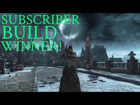 Dark Souls 3 - Subscriber Build Winner  - Moonlight Sorcerer!