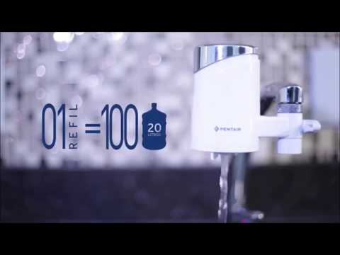Filtro Purificador Água p/ Torneira Portátil Pentair Inmetro