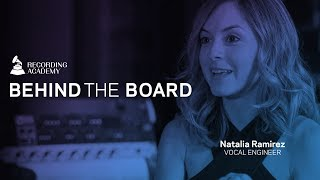 Natalia Ramirez Talks Falling In Love With Audio Engineering | Behind The Board