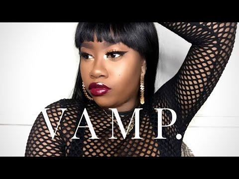 The Best Vampy Burgundy & Purple Lipsticks for Dark Skin | THE TASTEMAKER
