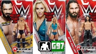 WWE Mattel Basic 71 Pictures - Austin Aries Figure! | Wrestling Figure Observer Podcast #29