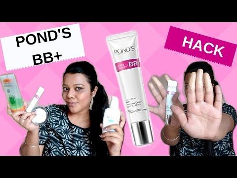 Ponds BB Cream 2 HACKS for easy APPLICATION for all SKIN types & tones/ #Pond #Beauty Hacks