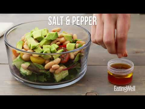 How to Make a White Bean & Veggie Salad | EatingWell
