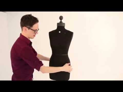 Padding and Shaping Your Pinnable Dress Form