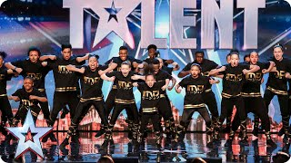 Watch dancers IMD Legion get into their groove   Britain's Got Talent 2015