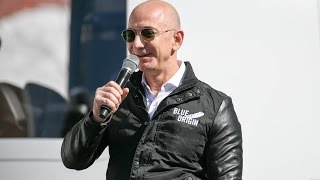 What if you have to pee or puke in space? Jeff Bezos has answers