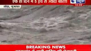 India News : Heavy rains lash Gujarat