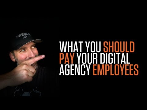 WHAT YOU SHOULD PAY YOUR DIGITAL AGENCY EMPLOYEES | NEW HIRE SALARIES